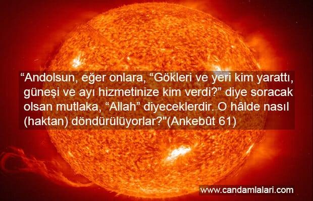 Güneşin Muazzam Enerjisi