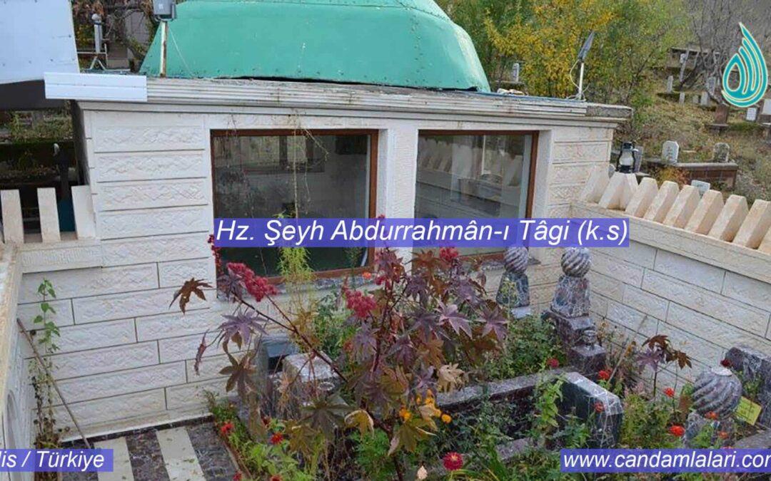 Hz. Şeyh Abdurrahmân-ı Tâgî (k.s)