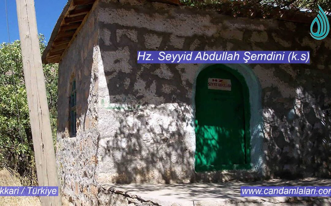 Hz. Seyyid Abdullah Şemdini (k.s)